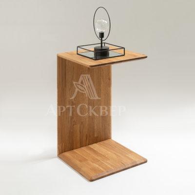 """Стол приставной """"Соно 2"""" из массива дуба"""