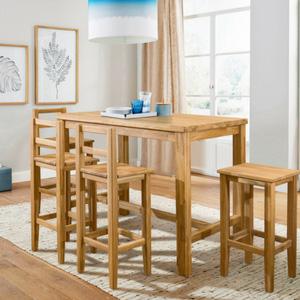 Столы и стулья барные из дуба