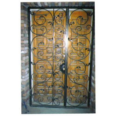 Ворота кованые К4