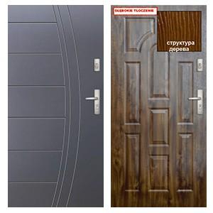 Дверь KMT Plus  54 глухие класс защиты 2