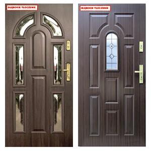 Дверь KMT Plus 54 с витражем и багетной рамкой