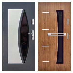 Дверь KMT Plus 54 и KMT Plus 75 Perfekt Inox