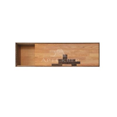 """Шкаф навесной """"Сканди 4.1"""" Дизайн из массива дуба"""