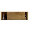 """Шкаф навесной """"Сканди 4.1"""" из массива дуба"""