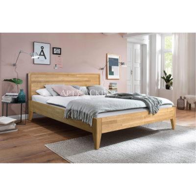 """Кровать из массива дуба """"Руна"""" 140х200"""