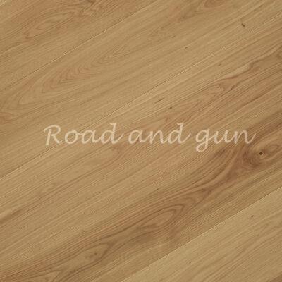 Паркет однополосный 3-х слойный дуб Road and gun