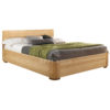 """Кровать из массива дуба """"Лозанна"""" 180х200 с нишей для постельного белья"""