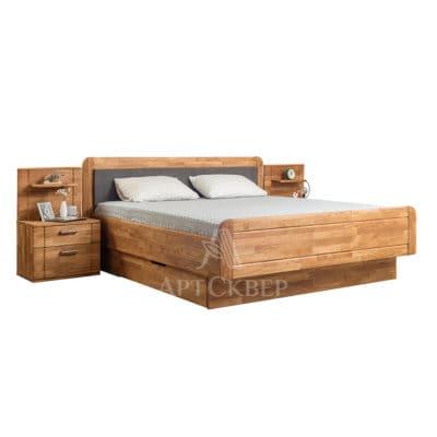 """Кровать """"Эльза"""" 180х200 с нишей для постельного белья"""