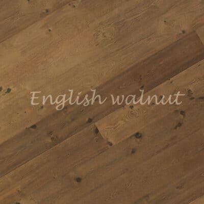 Паркет однополосный 3-х слойный дуб English walnut