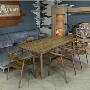 Мебель для гостиной и столовой из дуба «Concord Design»
