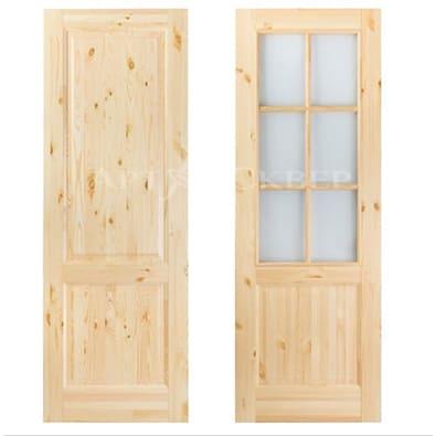 Legend 2 дверь из массива сосны с сучками