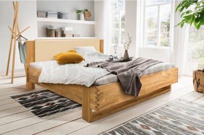 """Кровать из массива дуба """"Акра"""" 140х200"""